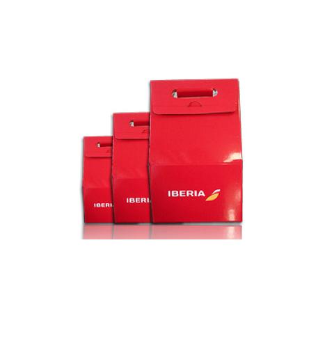 Cajas personalizadas de Iberia Benecrom