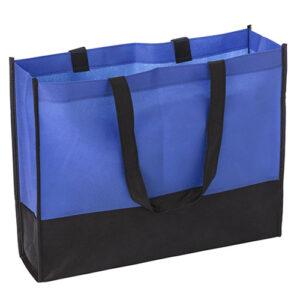bolsa bicolor de tejido sin tejer