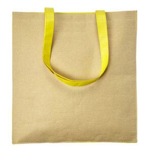 bolsa con papel reciclado