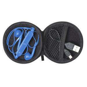 auriculares con cable de carga