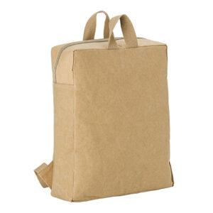 mochila de papel laminado