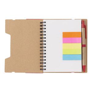 libreta papel reciclado